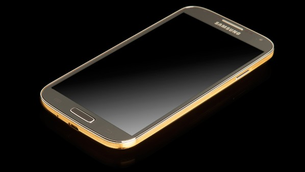 The Golden Samsung galaxy s4