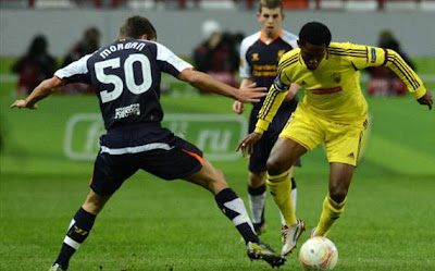 Hasil Pertandingan Anzhi Makhachkala vs Liverpool 9/11/2012