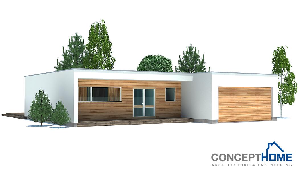 Contemporary house plans contemporary home ch167 for Concept home com