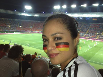 maya karin, euro 2012, germany, football