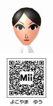 横山裕(関ジャニ∞)のMii QRコード トモダチコレクション新生活