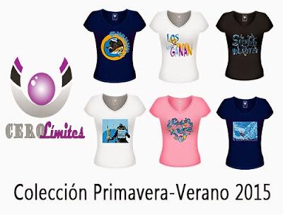 Colección P/V2015 Camisetas CeroLimites