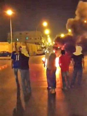 la proxima guerra protestas en Arabia Saudita