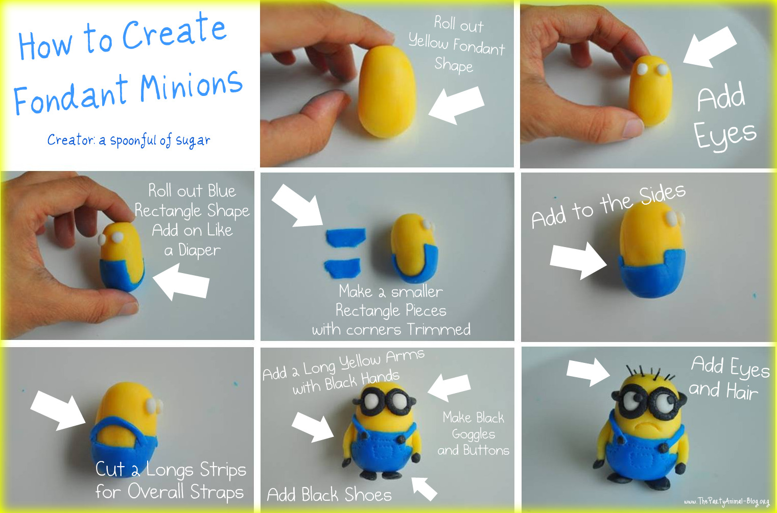 Happy Tummy Minion Cakes