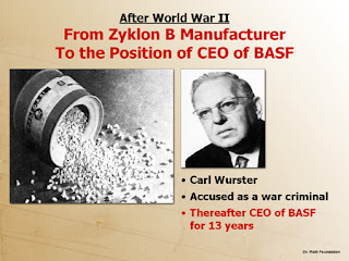 Carl Wurster; Acused War Criminal; NAZI Crimes; Acusado de Crimes Guerra; NAZI