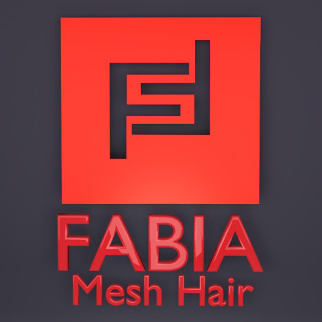 -FABIA- Mesh Hair