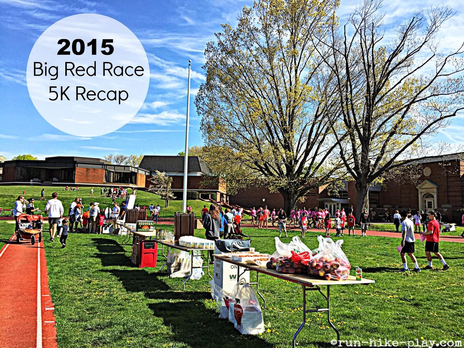 Run hike play 2015 big red race 5k race recap for Big red racing