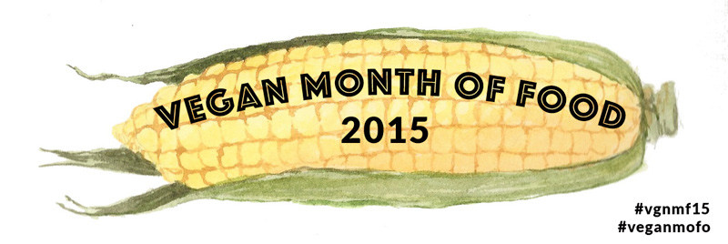 Click the button below to see all of my posts from VeganMoFo 2015!