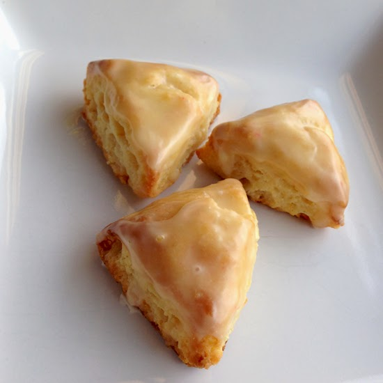 Food Pusher: Mini Glazed Orange Scones
