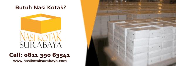 Nasi Kotak Murah dengan Harga Rp 10.000 di Surabaya