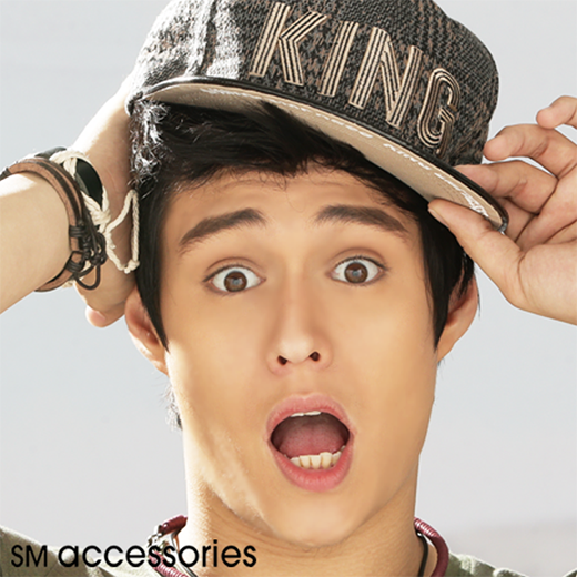 enrique gil goes wild, sm accessories 2015