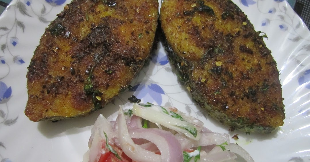 A2zindianrecipes king fish fry for King fish recipe
