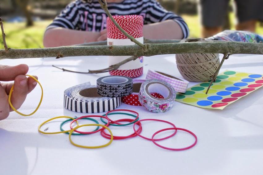 Materiales para hacer el diy arco de indio