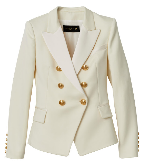 Balmain for H&M blazer