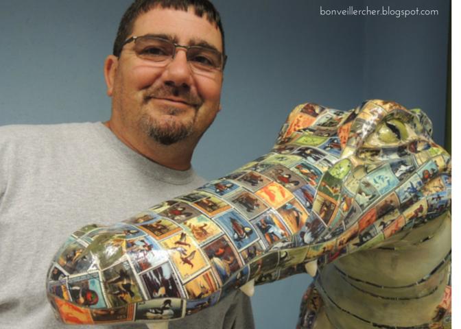 Bon veiller, cher: Huntin' for Gators on the Geaux #1   Public art project in Lake Charles, Louisiana   bonveillercher.blogspot.com