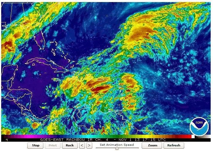 Clima en Venezuela (NOAA)