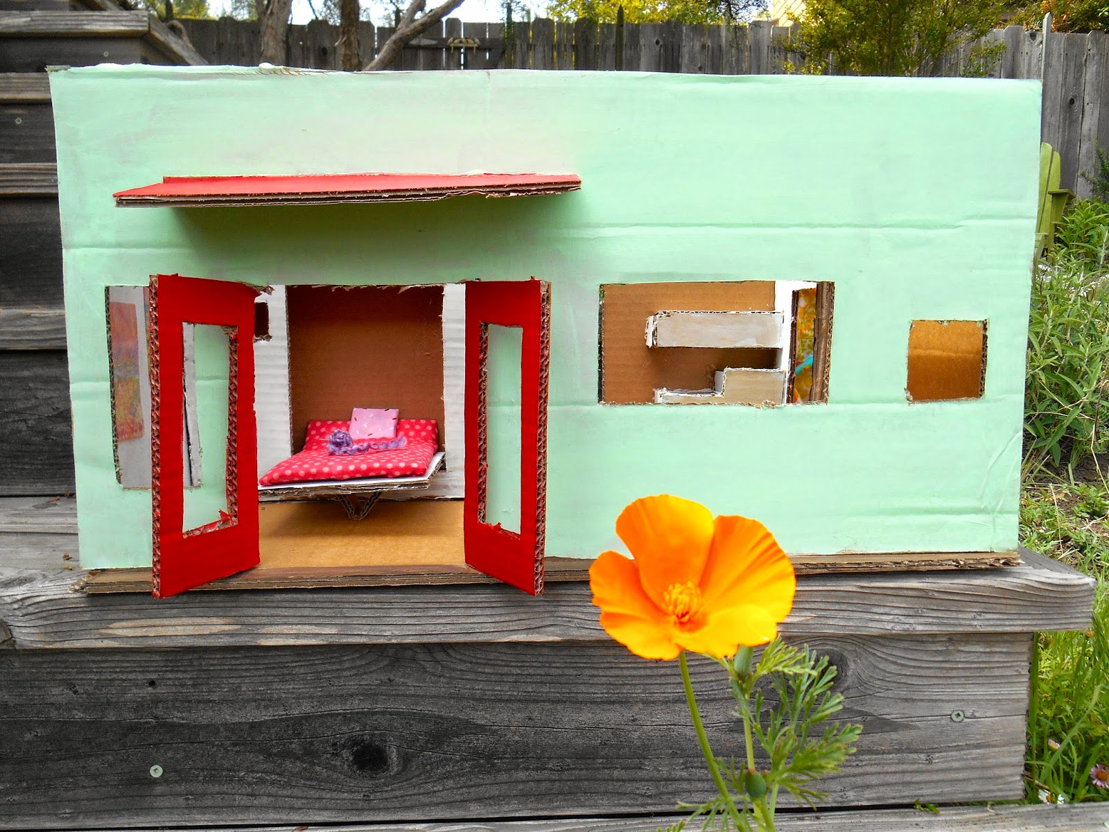 Tiny Modoc Crimson Mint Tiny House with Murphy bed