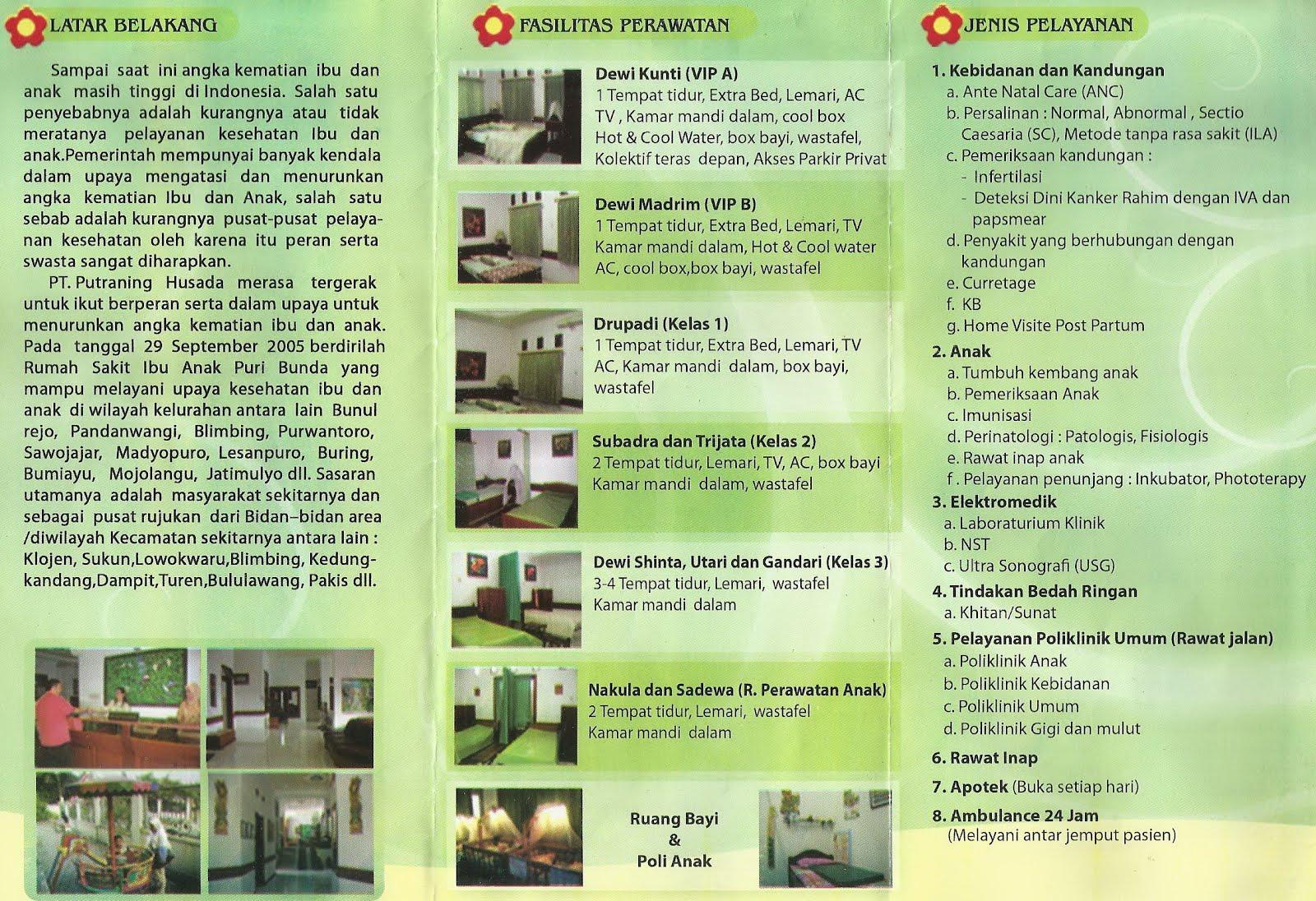 contoh desain rumah sakit