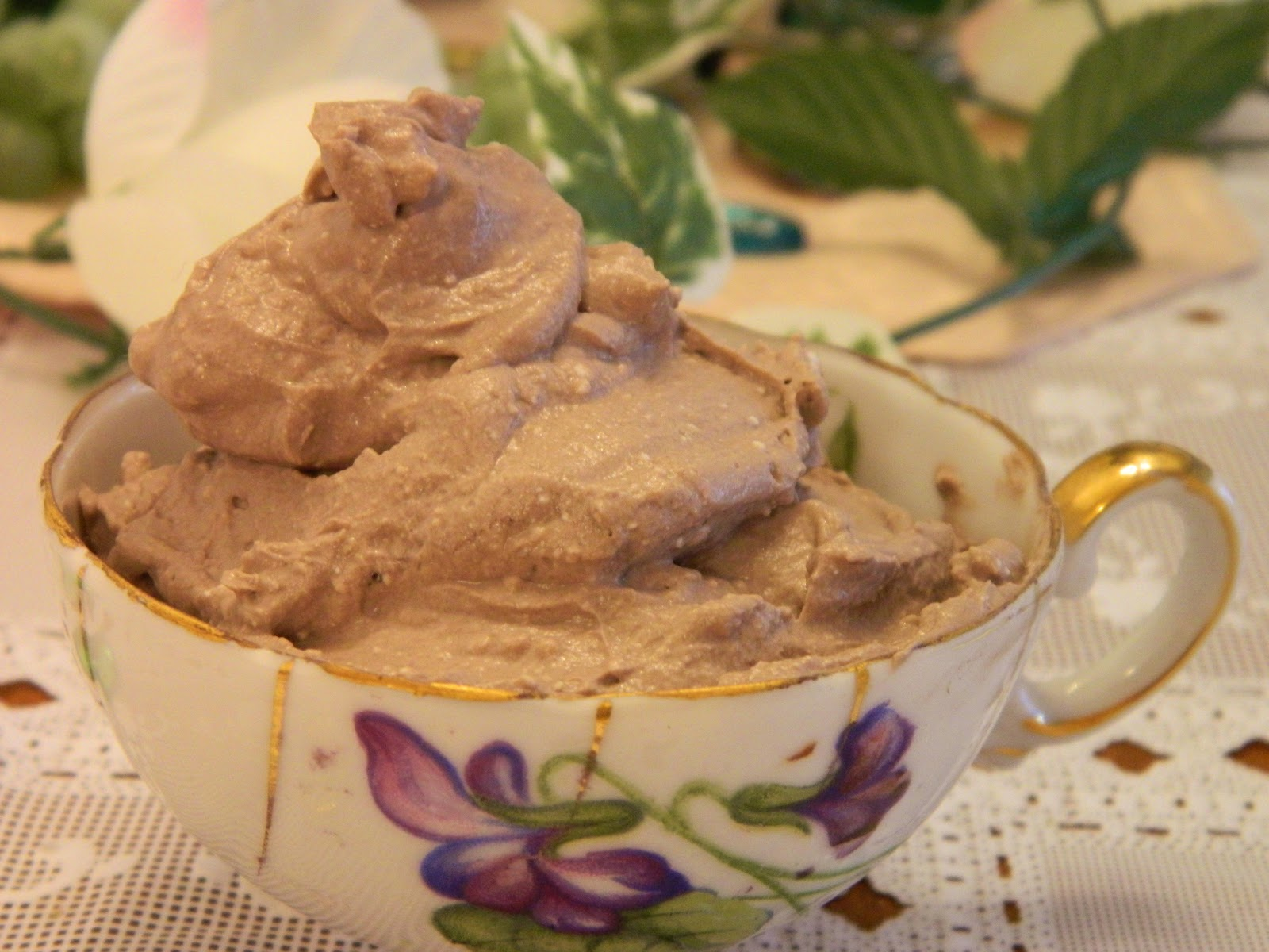 Ginnys low carb kitchen quark flax oil and chocolate mousse quark flax oil and chocolate mousse ccuart Gallery