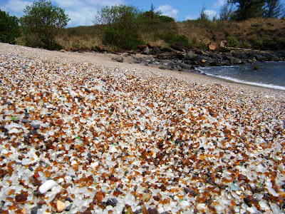 Glass Beach – a praia dos cristais