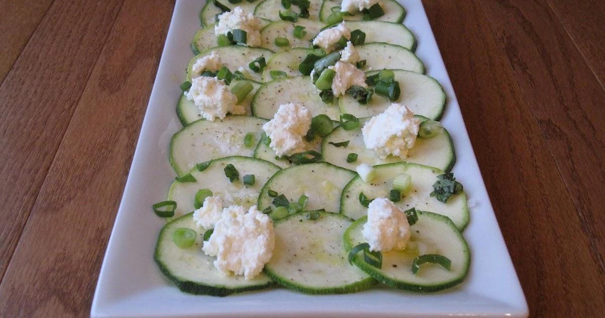 Eating Deliciously: Zucchini Carpaccio