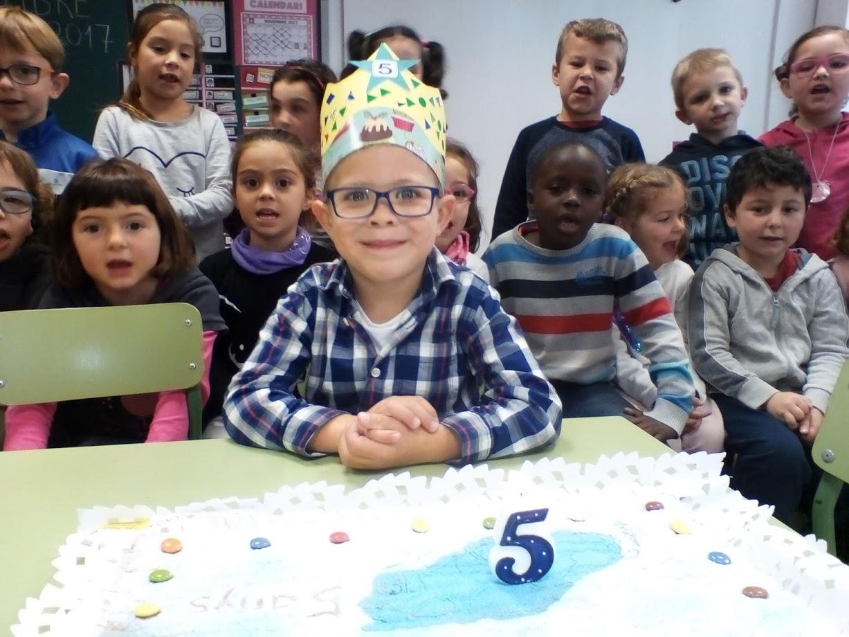 N'Enzo ja té 5 anys!!