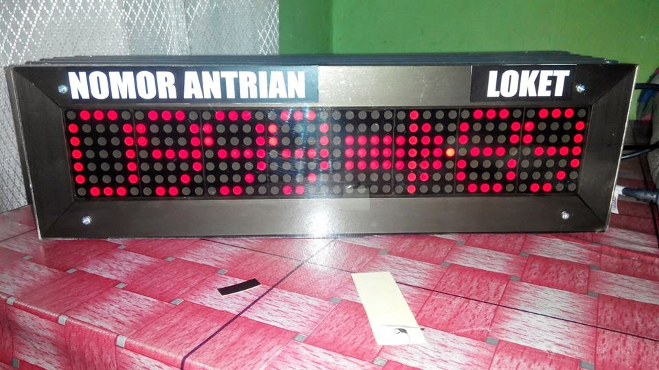 DISPLAY ANTRIAN BANK