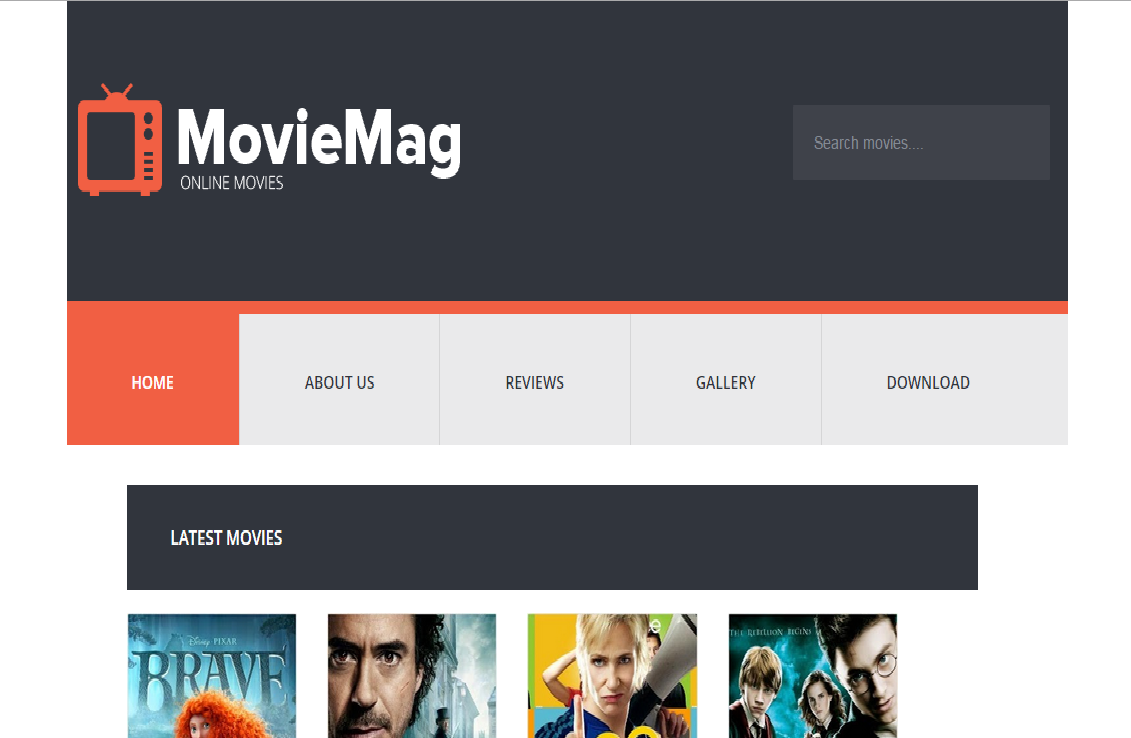 Blogger Templates Yard: Movie Mag Free Blogger Templates