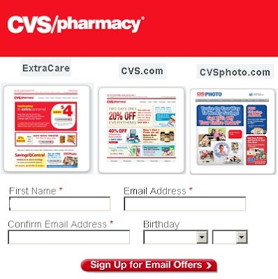 www.cvs.com/email: Subscribe to CVS Email for saving in pharmaceutical Drugs