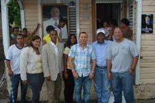 Hipólito Mejía recibe gran respaldo en Cambita y juramenta al expelotero de Grandes Ligas Wilson Delgado y al Empresario José Peña del Villar
