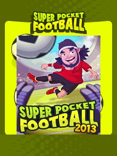 Super Pocket Football 2013 240x320 Touchscreen,games for touchscreen mobiles,java touchscreen games,