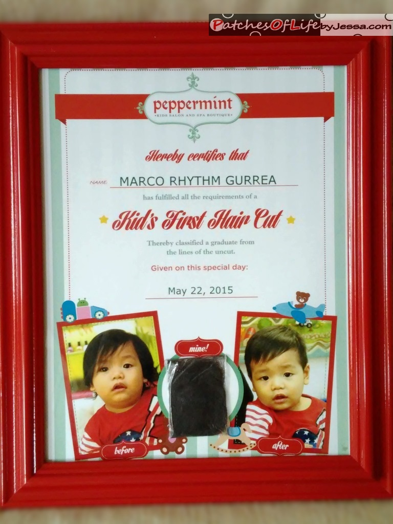 Review peppermint salon p500 first haircut with certificate rhymes first haircut certificate frame not included xflitez Gallery