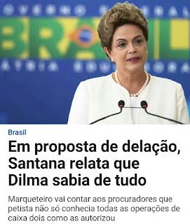 Dilma sabia de tudo?