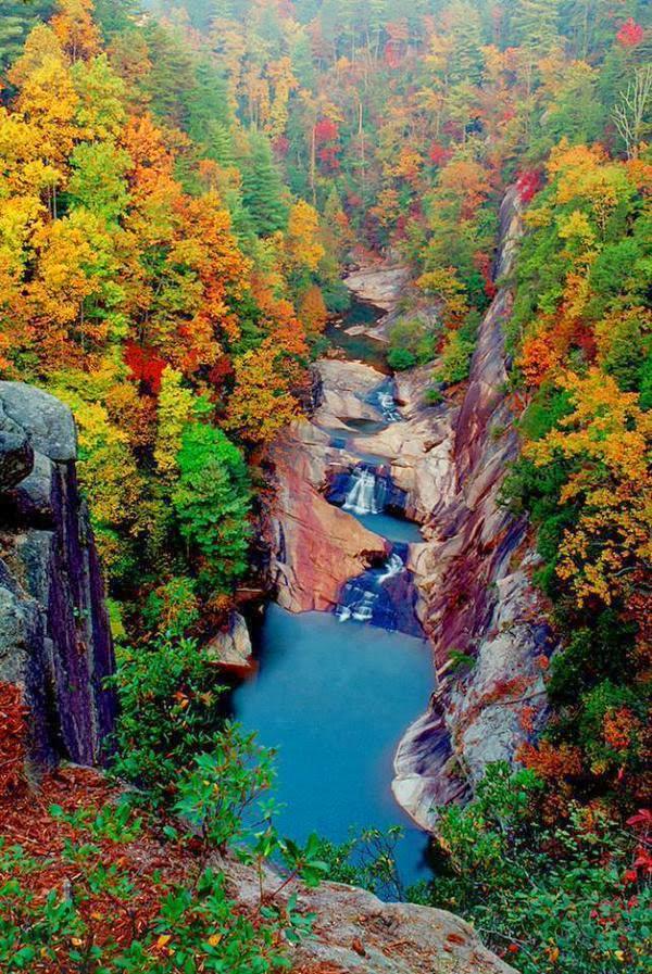 Tallulah Gorge Falls, Georgia