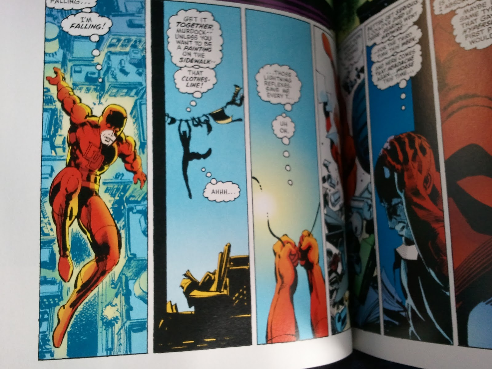 Junk Food For Thought Review Daredevil By Frank Miller And Klaus