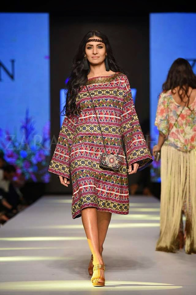 Zara Shahjahan TPFW 2015 Forever Boho Summer Collection