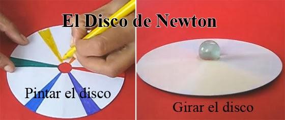 como se hace el disco de newton con un CD