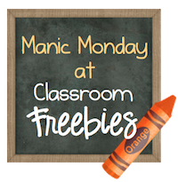 http://www.classroomfreebies.com/2014/01/welcome-to-manic-monday-at-classroom.html