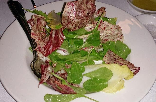 Pinotta, Italian, Fitzory, radicchio salad