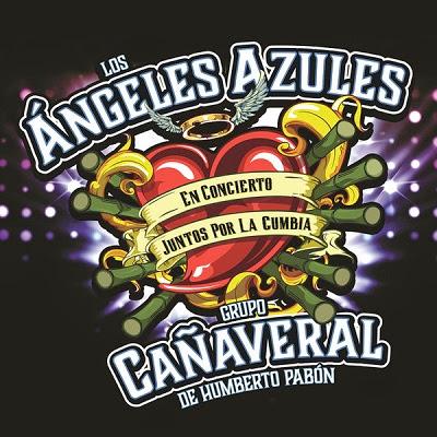 Los Ángeles Azules Y Grupo Cañaveral – Juntos Por La Cumbia (Live) (Cd 2014)