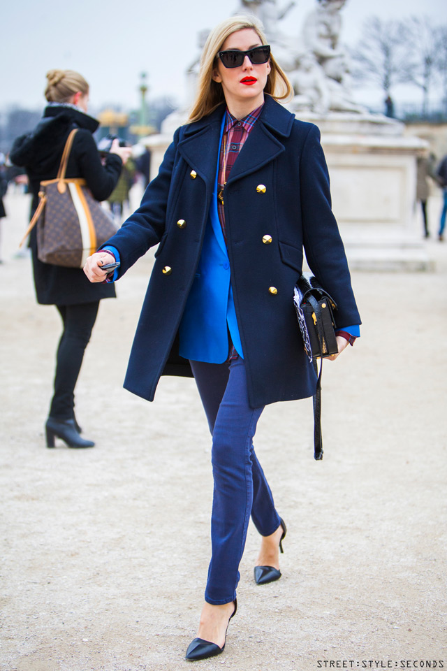 Color-Block By FelyM.: WINTER TREND: PEA COAT - TENDENZA CABAN ...