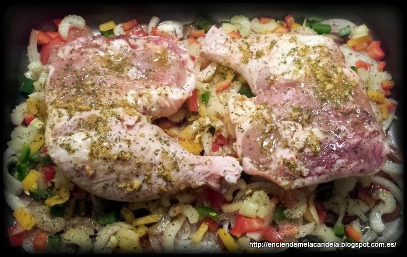 Cuartos Traseros De Pollo Asados. Cocinar carne | trucos - BlogHogar.com