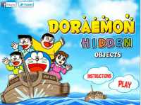 Doraemon objetos escondidos