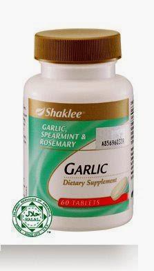 manfaat garlic complex shaklee