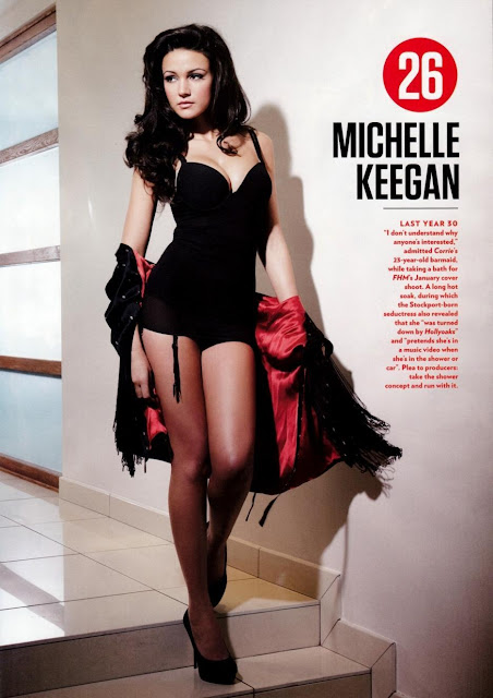 Michelle Keegan HD Wallpaper -01