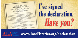 ALA Right to Libraries Declaration