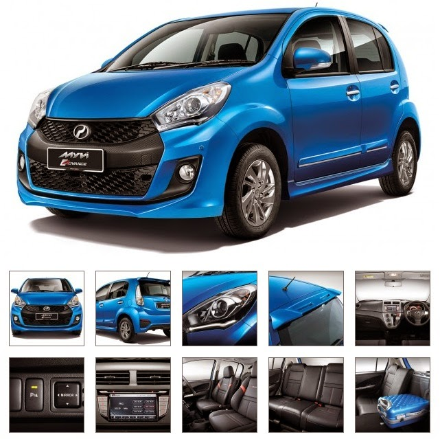 Model Perodua Myvi Baru (Facelift) 2015 - Advance 1.5L (AT)