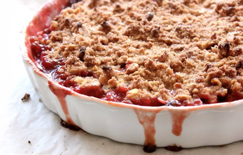 The Bojon Gourmet: (Gluten-Free!) Strawberry Rhubarb Crumble