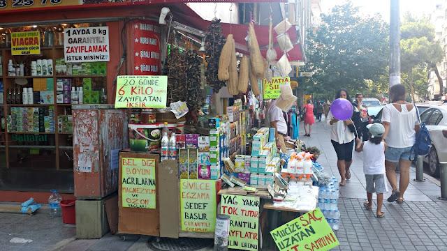Turcja Babskim Okiem: sklepiki naturalno-zielarskie