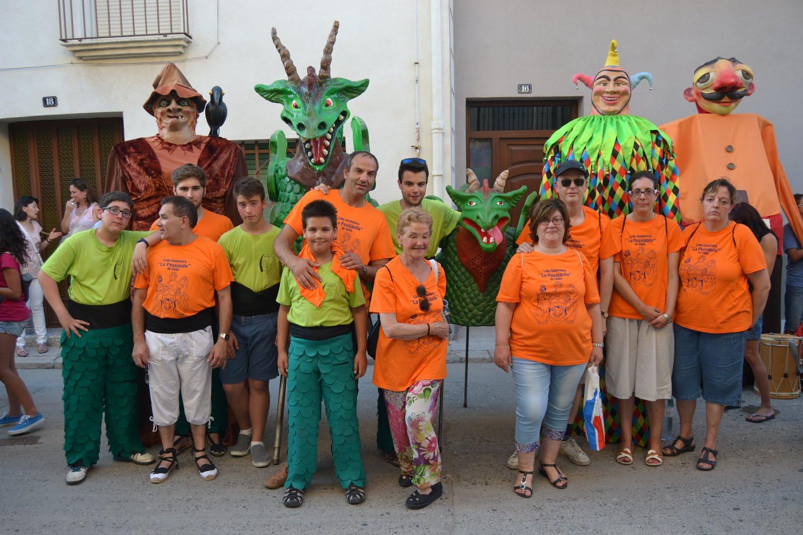 VIII Trobada de gegants a Torregrossa